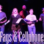 """The Cast of Stuart McMeans & Paul Castrataro's """"Fags and Cellphones."""""""