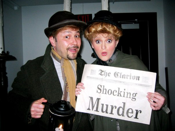 """Philip Paul Kelly and Tricia Tanguy in """"Jekyll and Hyde."""""""