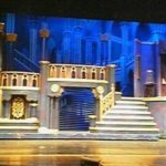 """The set of """"Beauty and the Beast, The Musical."""""""