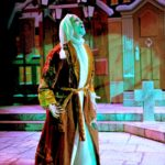 """Singer/Actor Philip Paul Kelly as Ebenezer Scrooge in the musical """"A Christmas Carol."""""""