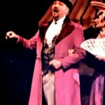 """Philip Paul Kelly in a scene from the musical """"Beauty and the Beast."""""""