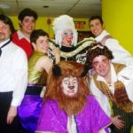 """Philip Paul Kelly and cast of """"Beauty and the Beast The Musical."""""""