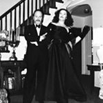 Philip Paul Kelly as Bette Davis, host of the Heroes Benefit at the Triad Theater.  Wearing a gown designed by Fashion Designer Albert Capraro. (Pictured Left)