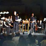 "Philip Paul Kelly on stage during performance of ""Ragtime on Ellis Island."""