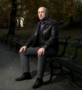 Philip Paul Kelly in Central Park, New York - 2017